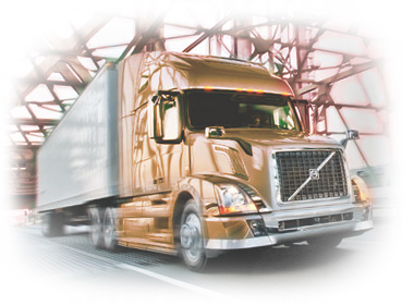 tractor trailer shipping truck